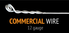 Commercial ceiling wire